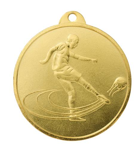 Médaille Or Ø 45 Mm Foot