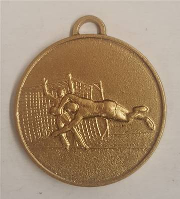 Médaille hand-ball Or 40  Mm